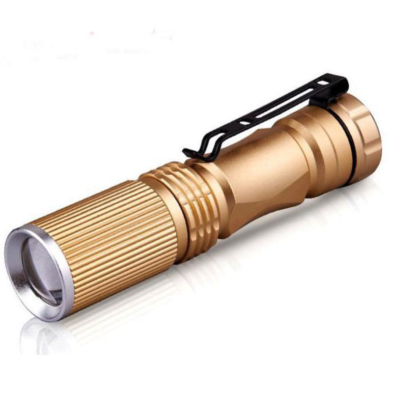 Mini Portable Lighting LED Flashlight for Camping Caving On Foot
