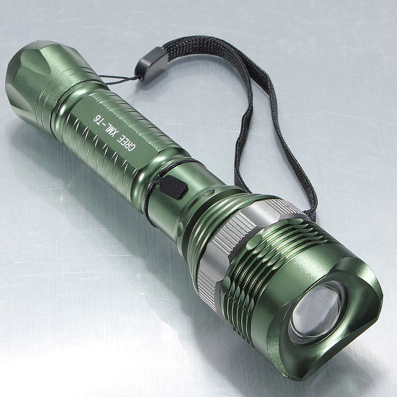 LED Lighting Flashlight Portable for Camping Caving On Foot 8066-Q5