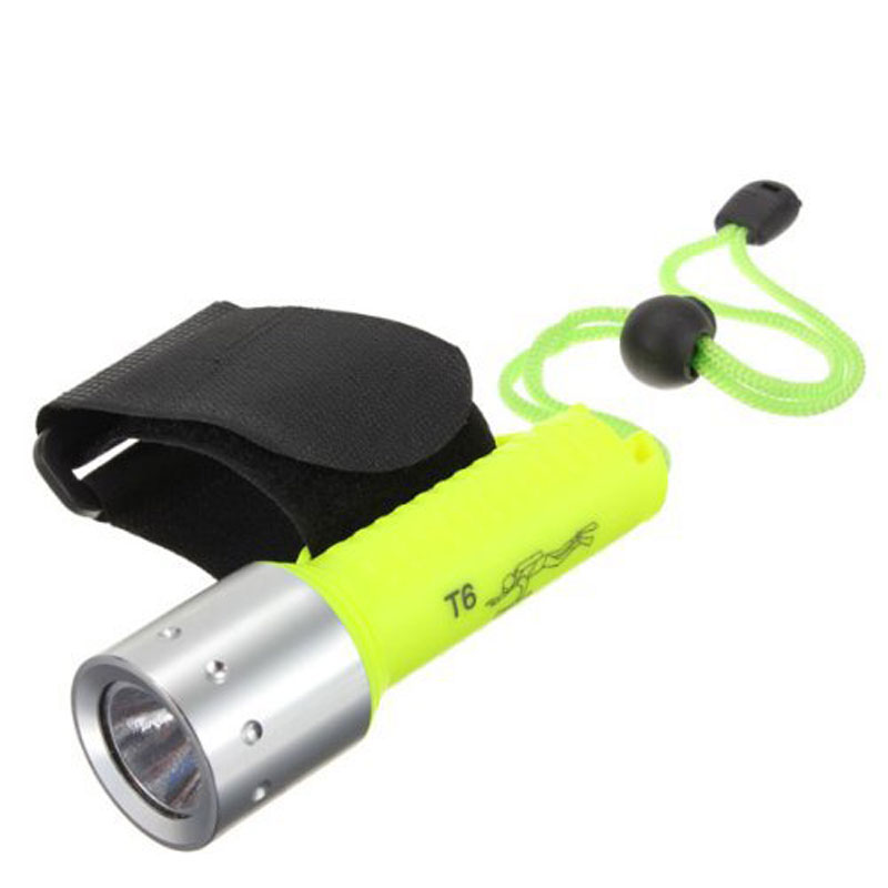Portable Waterproof LED Lighting Flashlight for Camping Caving On Foot
