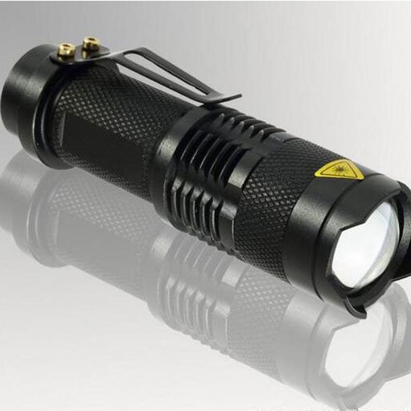 Mini Portable Waterproof LED Lighting Flashlight for Camping Caving On Foot SK68