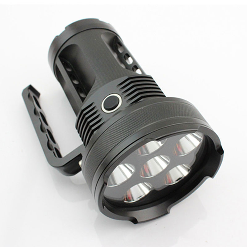 Portable Waterproof LED Lighting Flashlight For Camping Caving On Foot YM-914