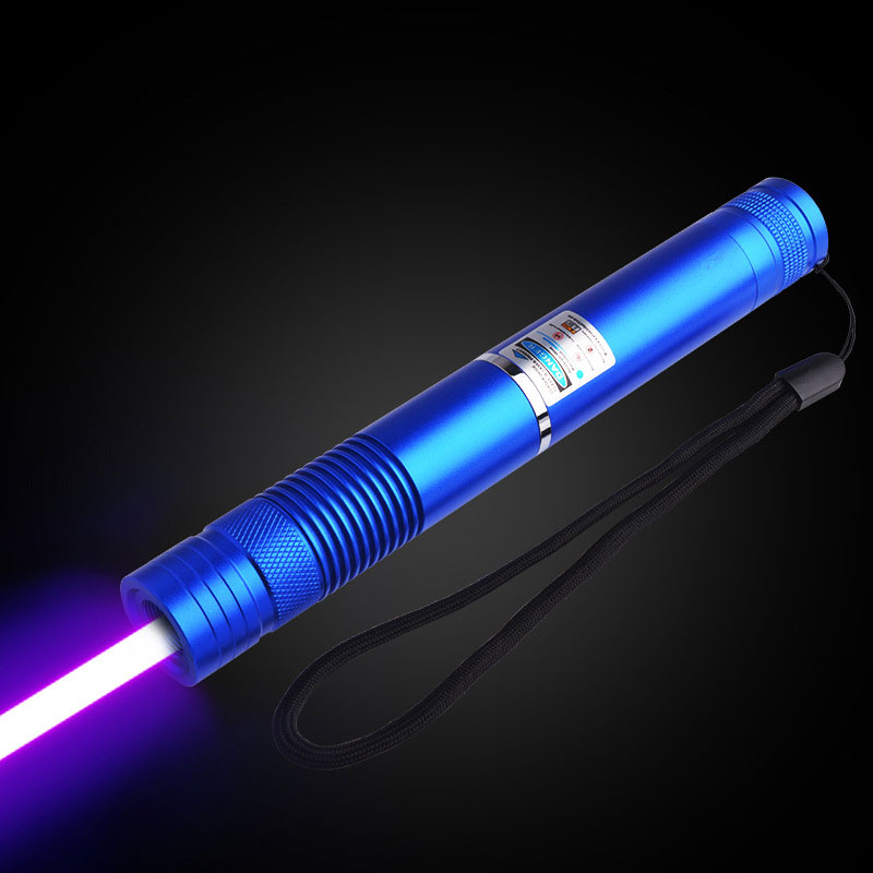 2W High-Power Laser Flashlight Blue Light Starry Light Matches