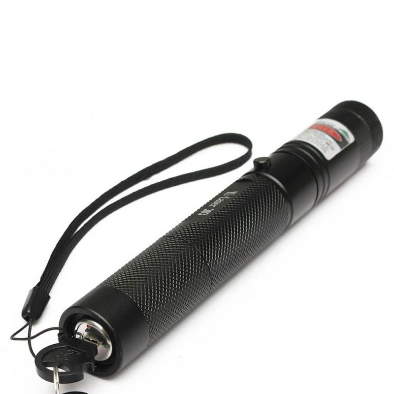 High Power Laser Pointer 303 532nm Powerful Green Laser Aluminum
