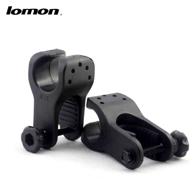 Lomon Flashlight Holder Bicycle Bike U-shaped Clip P61