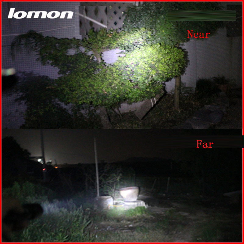 Lomon Portable Lighting LED Flashlight SD60 for Everyday Carry/On Foot/Camping