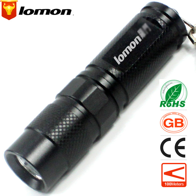 Lomon 14500 Portable Lighting LED Flashlight ST79 for Everyday Carry/On Foot/Camping