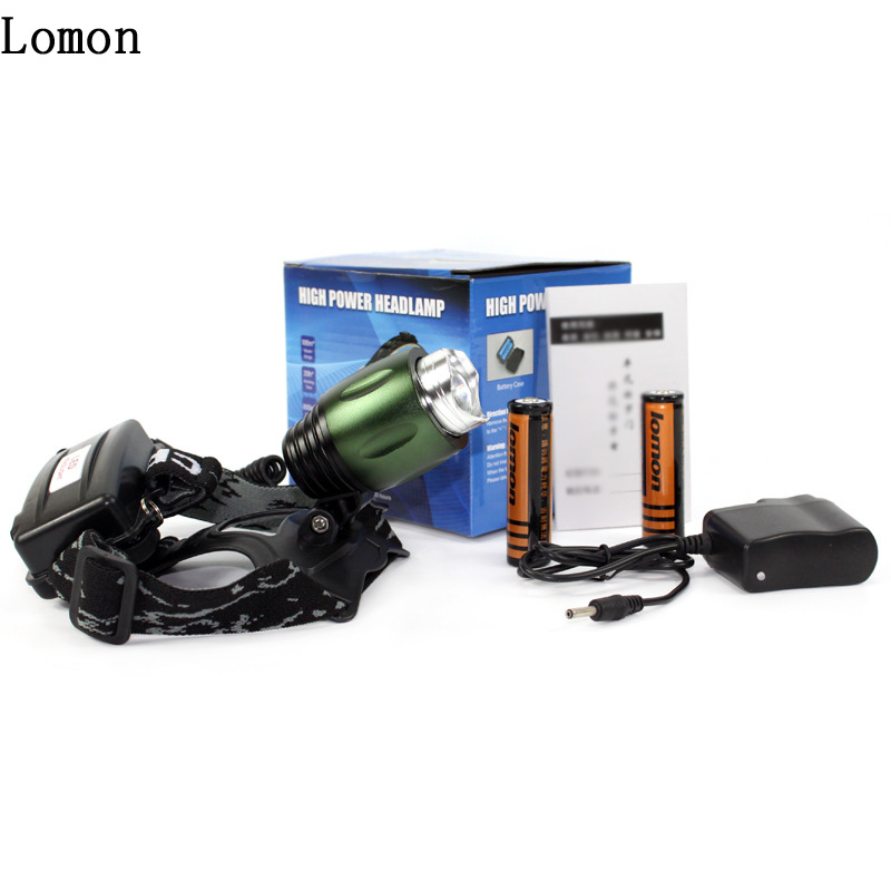 Lomon Waterproof CREE Rechargeable Headlamps Q3303 for Everyday Carry/On Foot/Camping/Hunting
