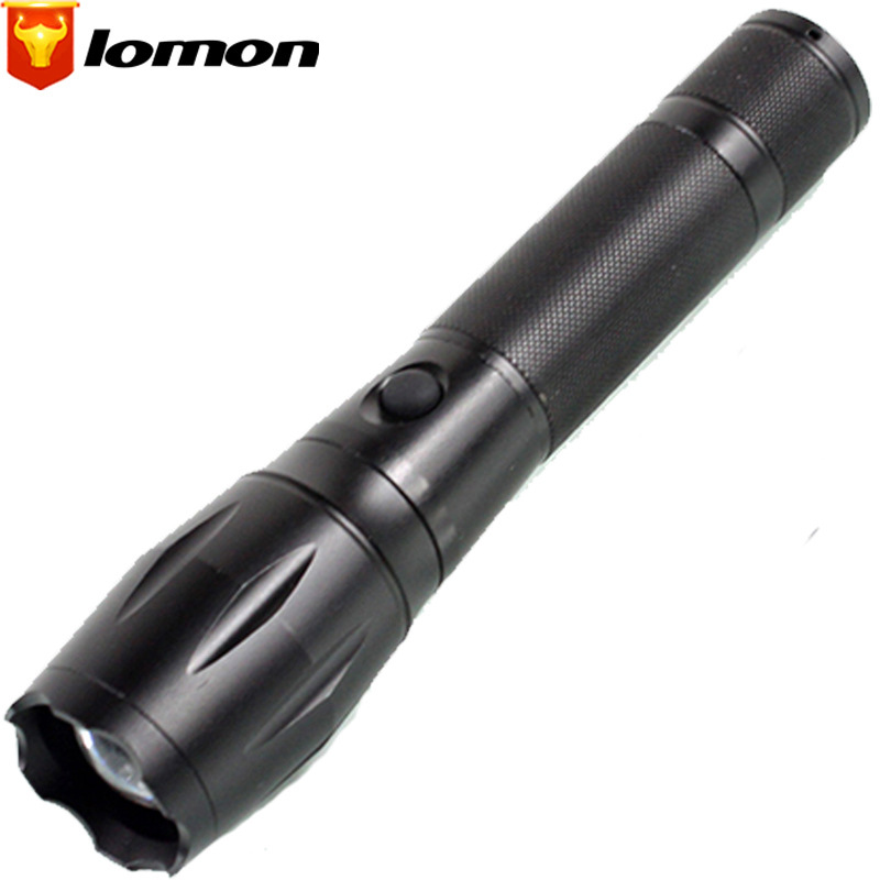 Lomon Telescopic Zoom Flashlight Rechargeable Flashlight SK54