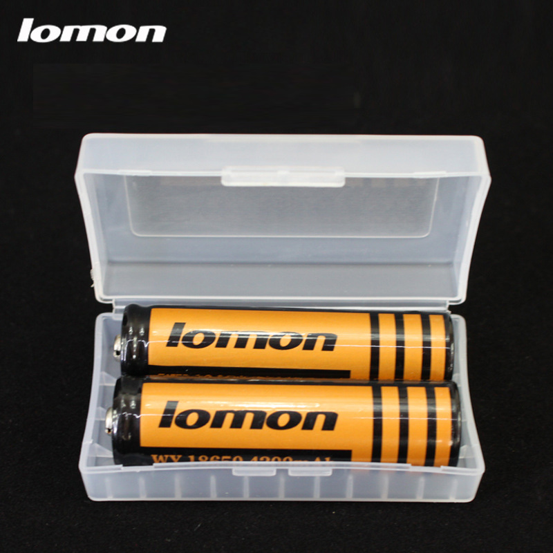 Lomon Battery Protective Cases Storage Boxes for 18650 Rechargeable Battery P7