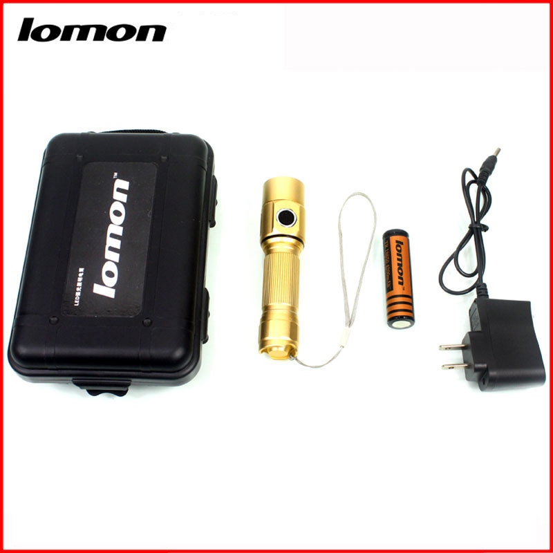 Lomon 18650 LED Household Rechargeable Flashlight SK69