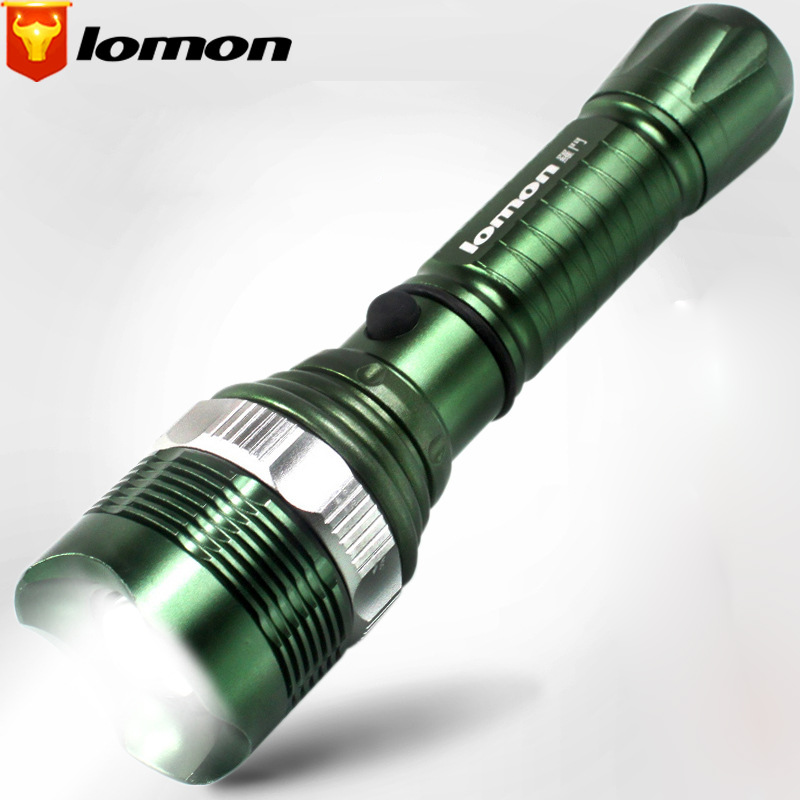 Lomon A8 Outdoor Hunting Long-range Flashlight Zoom Flashlight SK7
