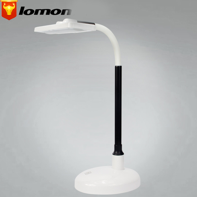 Lomon Headset Foldable USB Charged Touch Sensor Study Table Desk Lamp Night Light Q7001