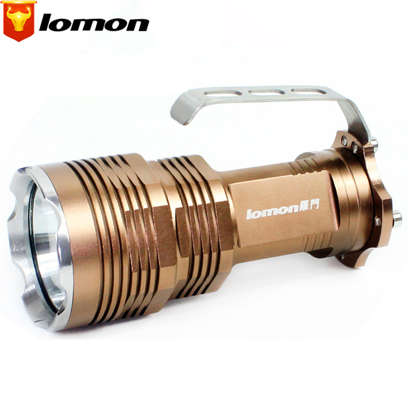 Lomon LED High-power Flashlight Waterproof Aluminum Alloy Flashlight Q1001