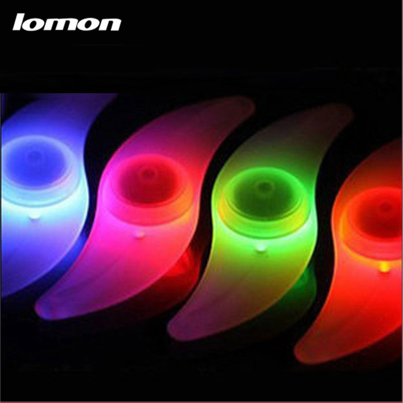 Lomon Cycling Wheel Spokes Lamp/Mountain Bike Spokes Light Silicone Bicycle Lights Q2001