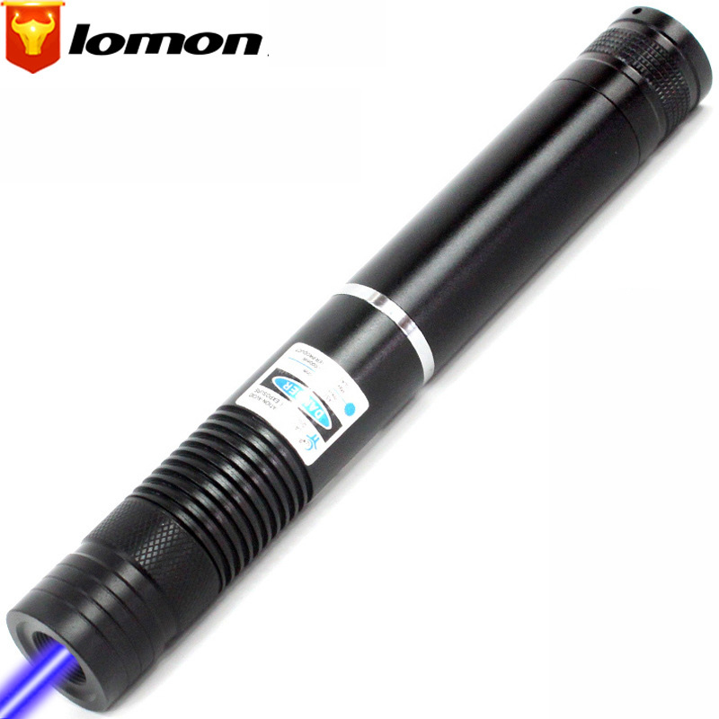 Lomon Blue Laser Pointer Long-range Laser Light Flashlight Q4085