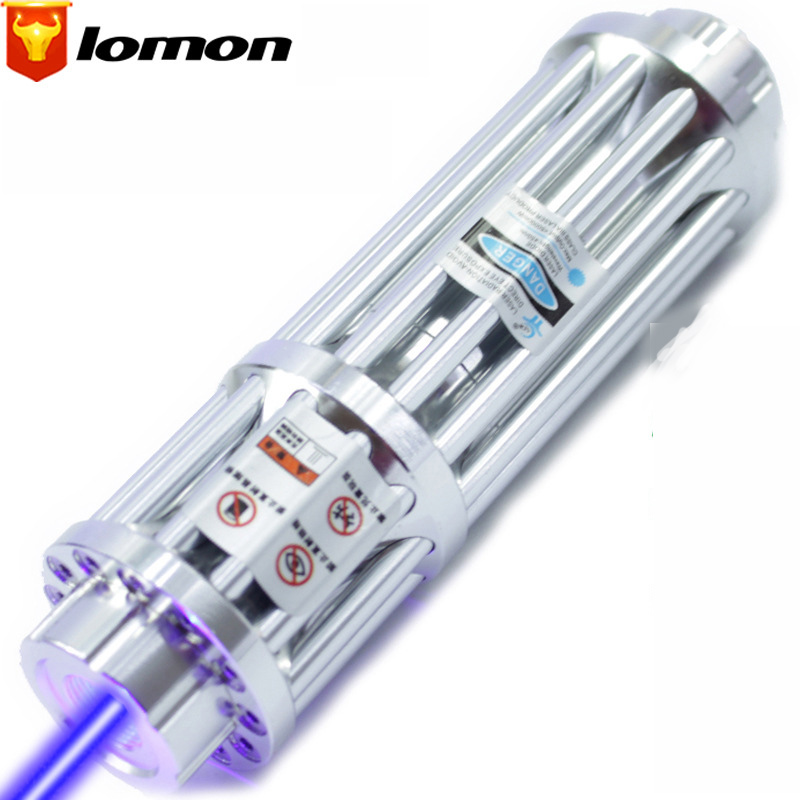 Lomon Blue Laser Pointer Long-range Laser Light Flashlight Laser Cigarette Lighter Q4086