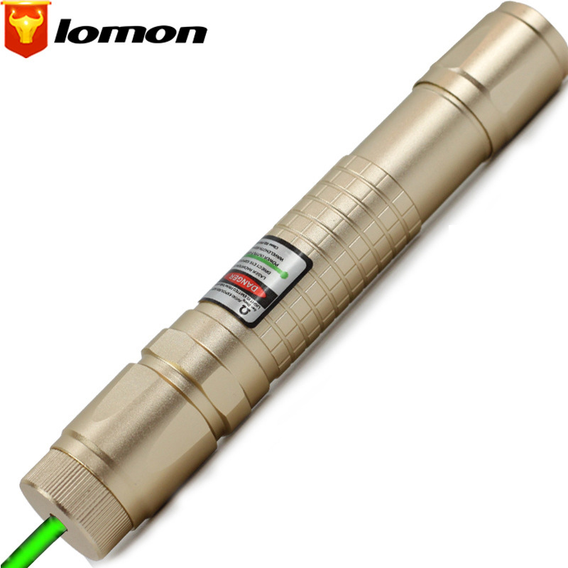 Lomon Green Laser Pointer Long-range Laser Light Flashlight Laser Cigarette Lighter Q4084