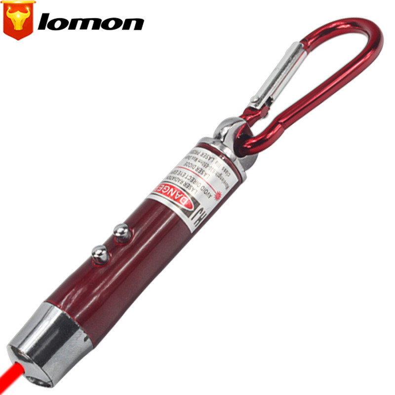 Lomon LED Mini Flashlight Mountaineering Buckle Flashlight SD145