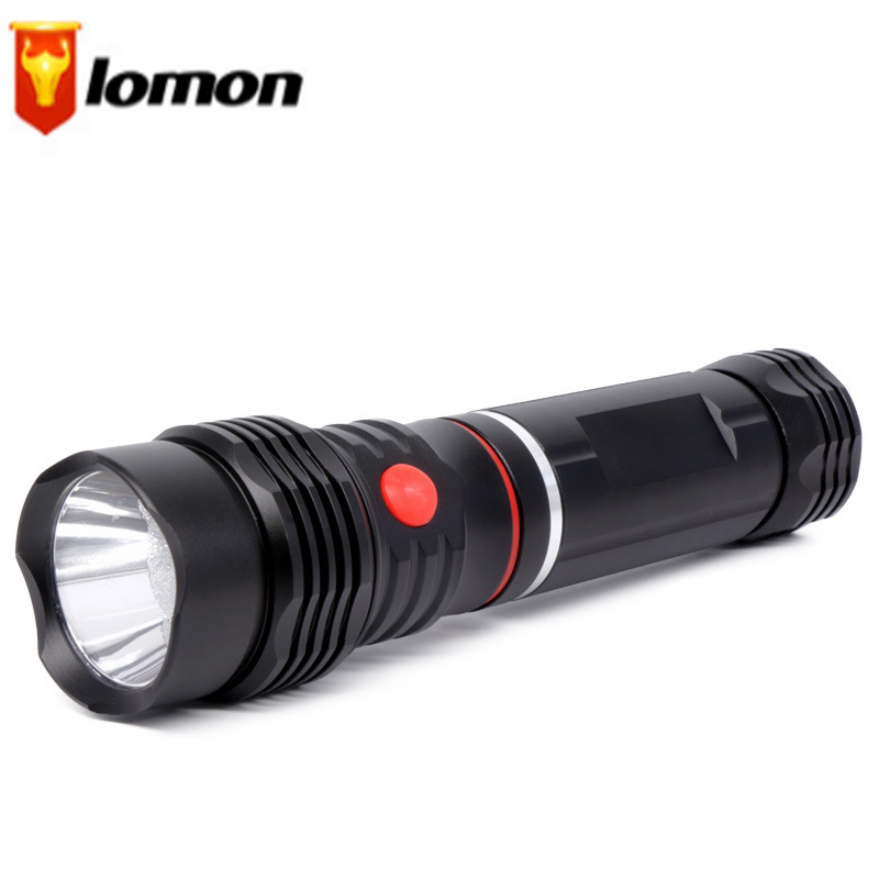 Lomo LED Multi-function Flashlight Telescopic Work Light Rechargeable Flashlight T9178