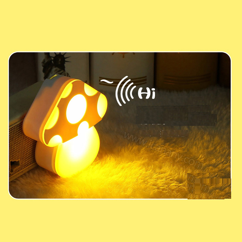 Sound Control Sensitive Charging LED Electronic Nightlight