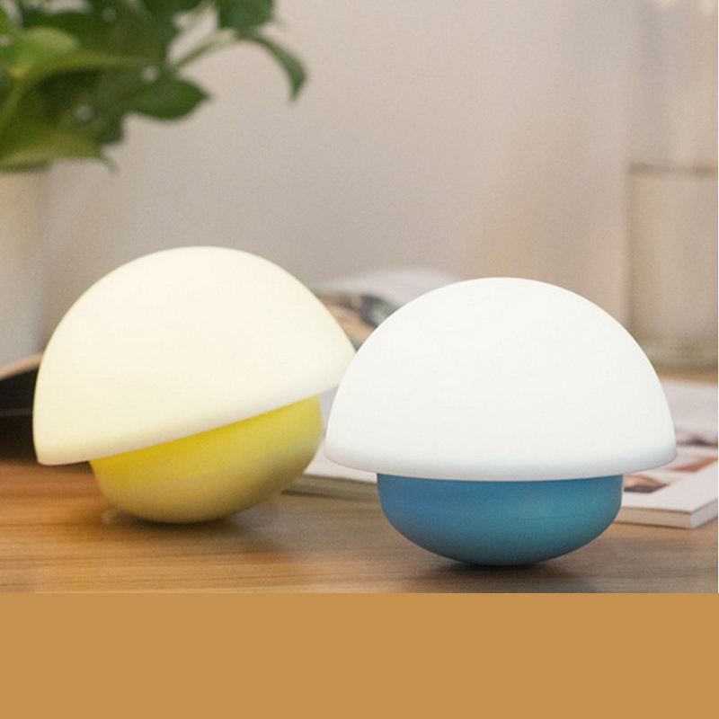 Fashion Mushroom Touch Sense Household USB LED Nightlight