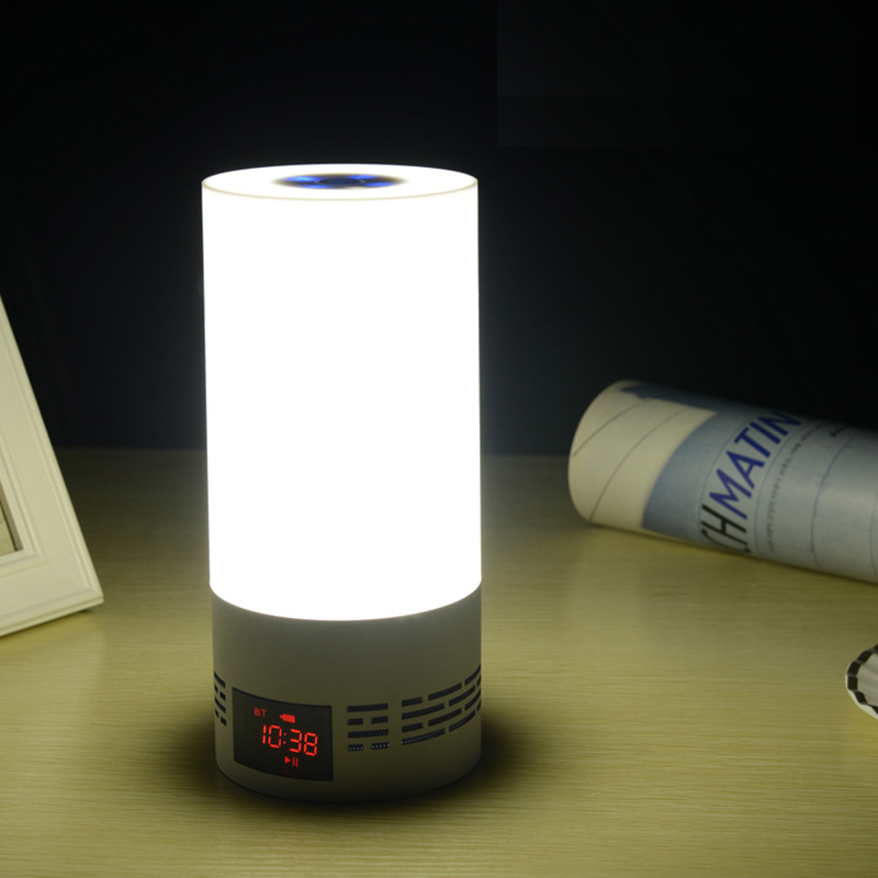 Household Bluetooth Speaker USB Interface LED Nightlight BL001