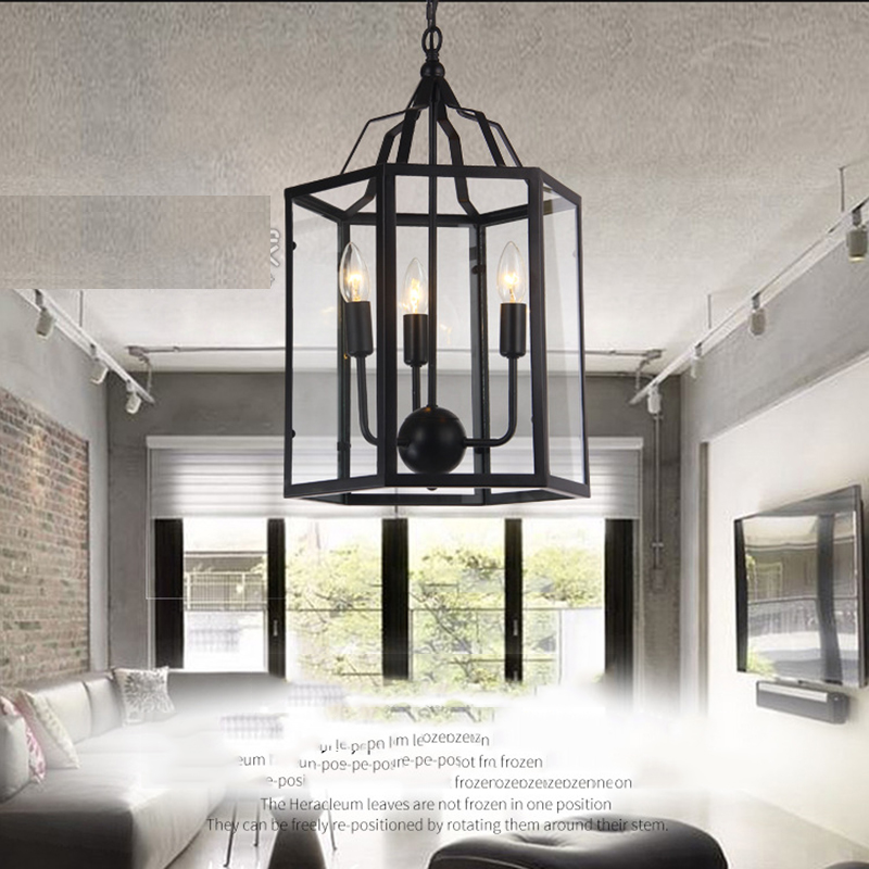 Creative Retro Style Household Birdcage Lighting Chandelier YS-D0027