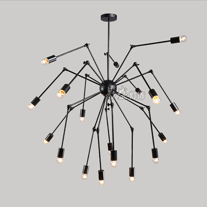 Fashion Spider Shape Pendant Lights Creative Lamp Lighting Chandelier YS-D0028