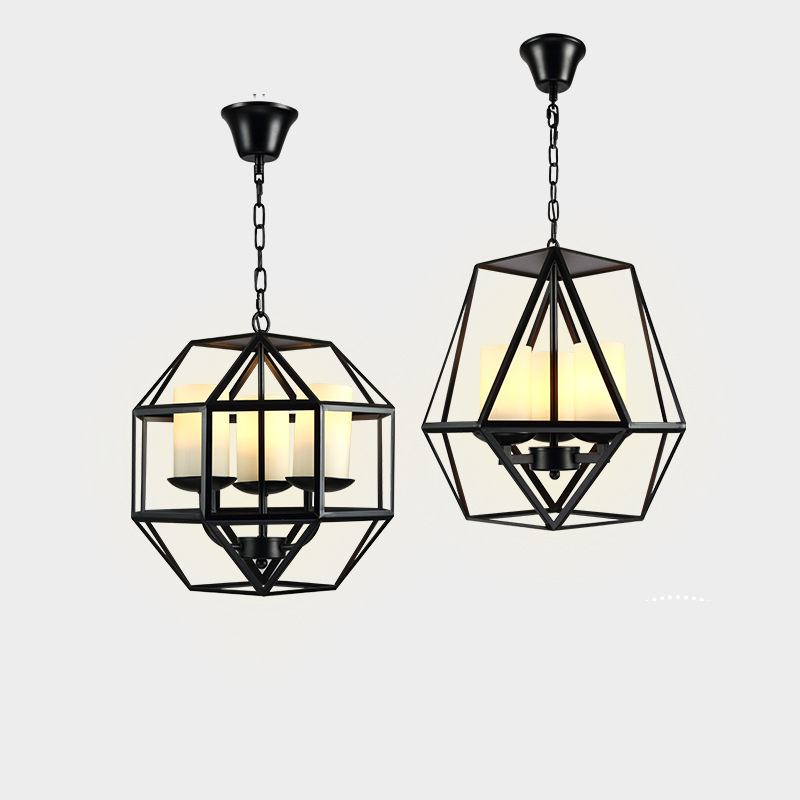 Simple Style Birdcage Creative Pendant Living Room Lighting Chandelier YS-D0019