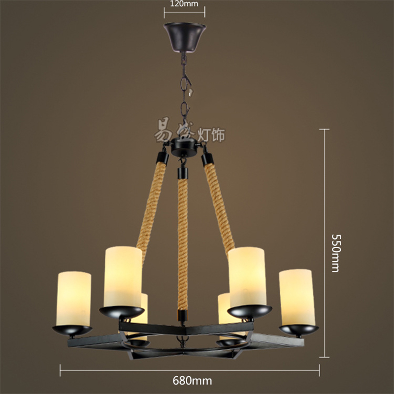 Hot Sale Living Room Coffee Shop Creative Pendant Lighting Chandelier YS-D0017