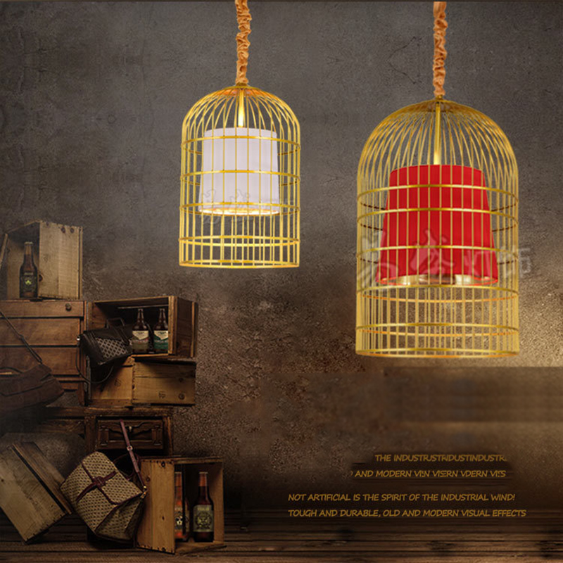 Individual Bar Pendant Lighting Birdcage Chandelier YS-D0009