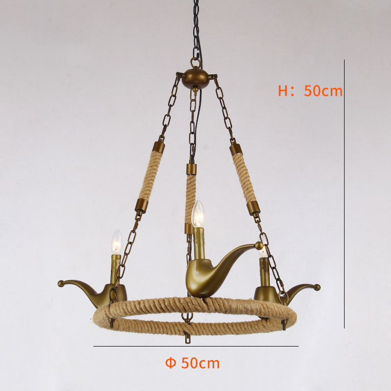 Cigarette Holder Shape Wild Vetch Pendant Lighting Chandelier YS-D0021