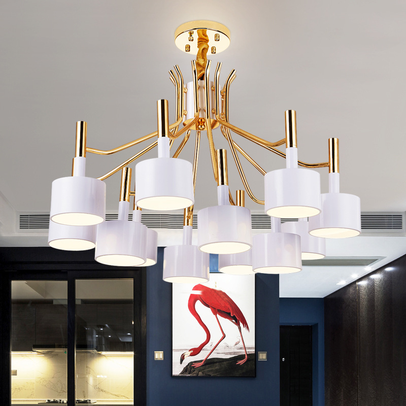 Modern Simple Style Pendant Lighting Living Room Chandelier YS-D0034
