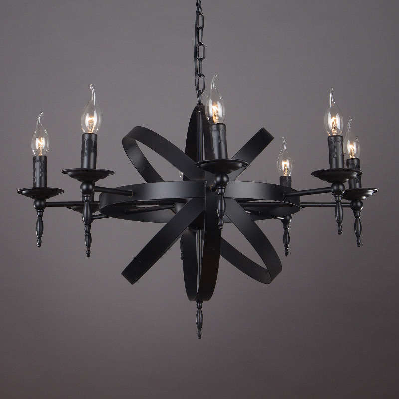 Retro Ferrum Living Room Pendant Lighting Modern Chandelier YS-D0032