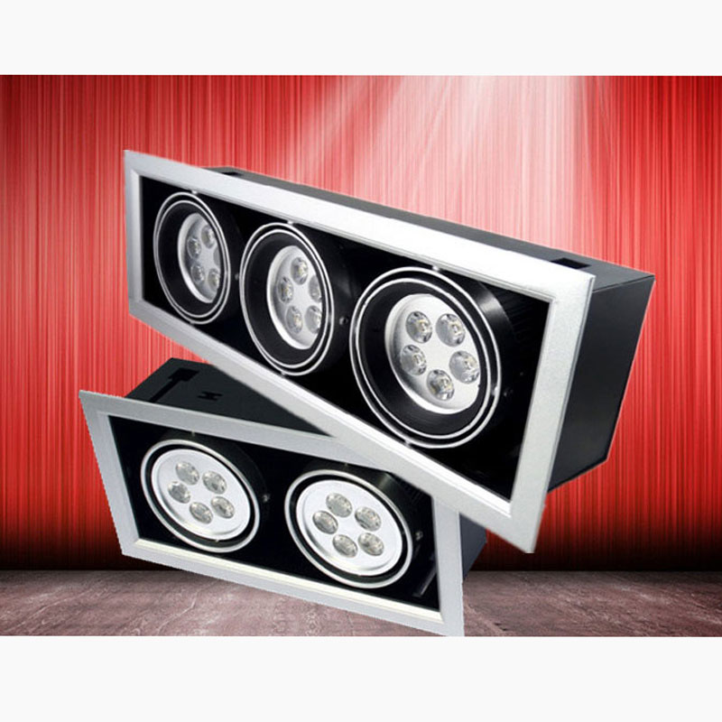 High Power Gallery Showroom LED Lights Light Grille Lamps No Noise