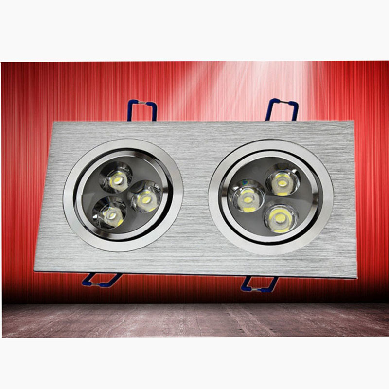 Aluminum 6W High Power Led Ceiling Light Home Bathroom Shop Lighting 220V