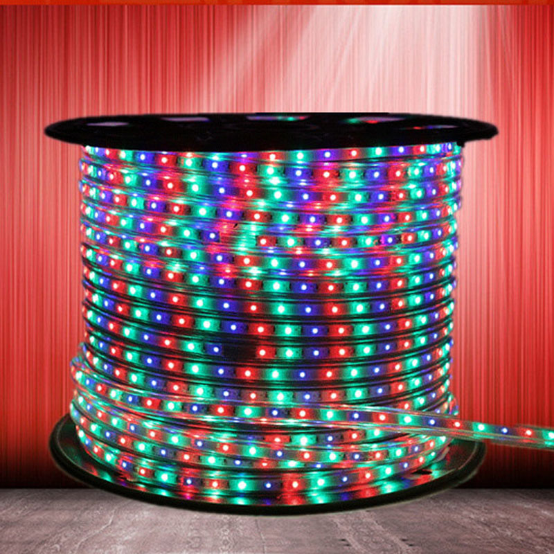 High Quality LED Strip Light 5050RGB Super Bright Stripe String LED Tape waterproof Indoor Home Decoration