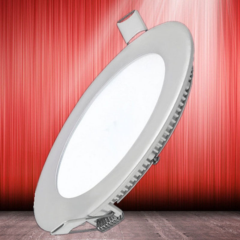 Ultra Bright 3W 6W 9W 12W 15W 18W 24W 32W Led Ceiling Recessed Downlight Round Panel light