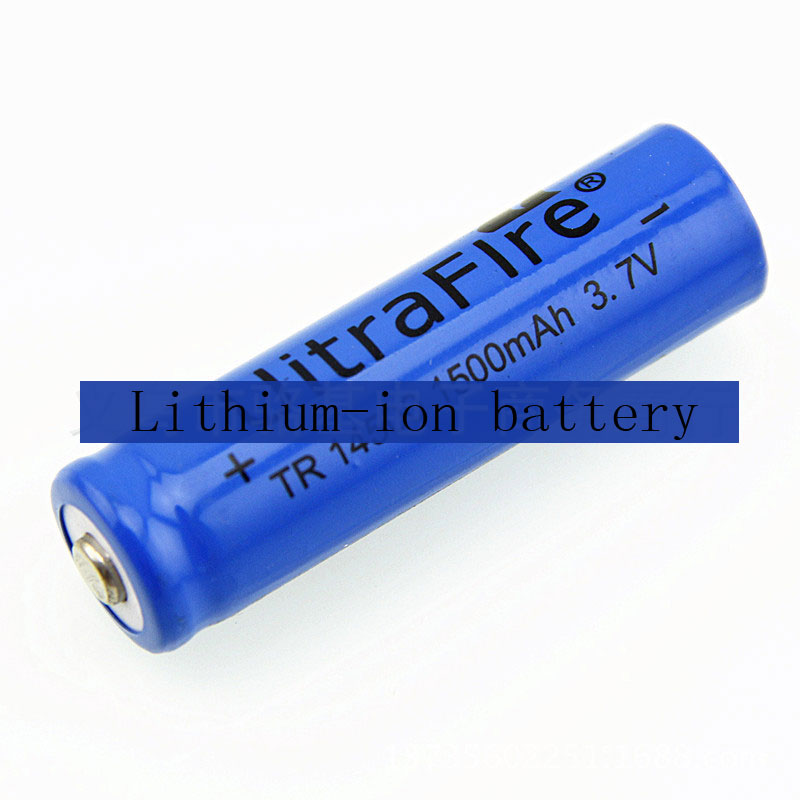 14500 1500mAh 3.7V Li-ion Batteries For Bright Light Flashlight