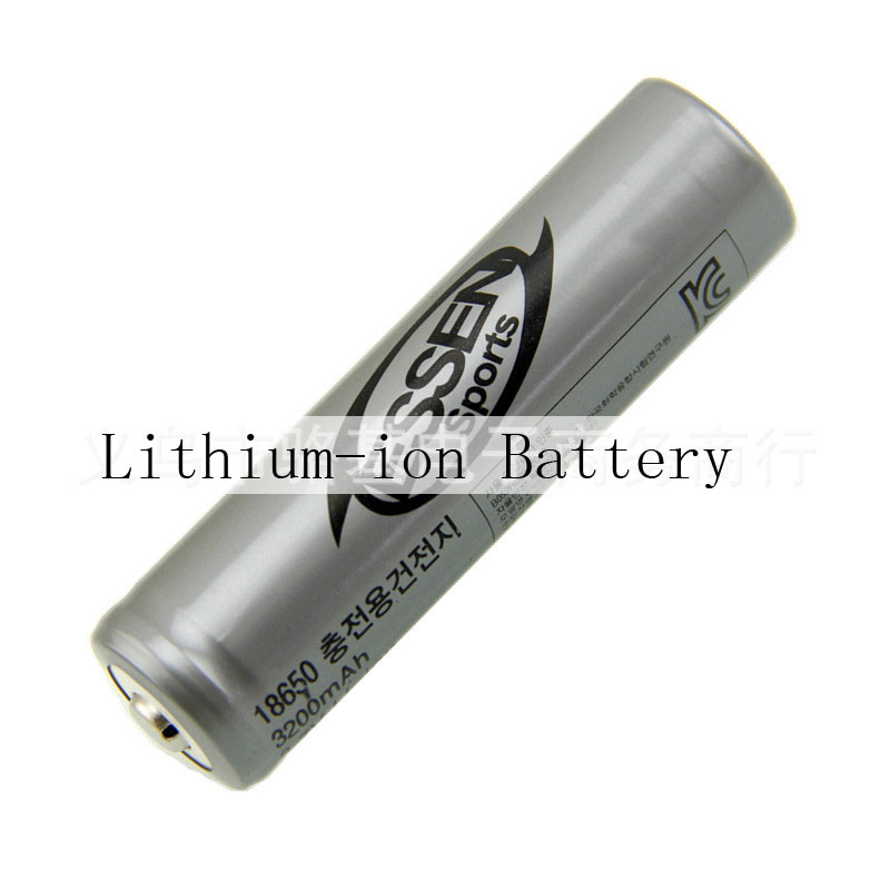 18650 1900mAh 3.4V Li-ion Batteries For Bright Light Flashlight