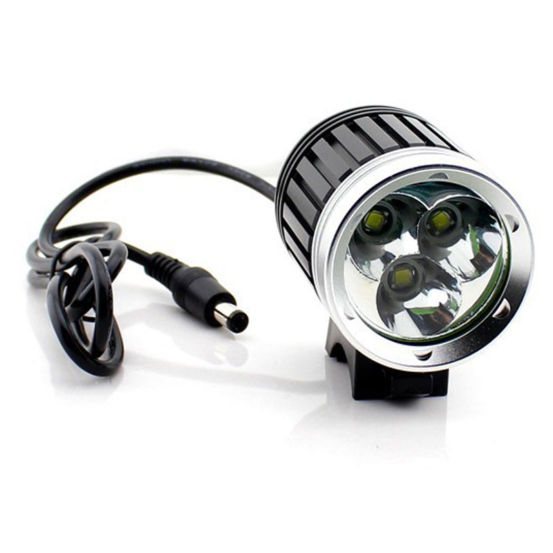 Rechargeable T6 Aluminum Alloy Front Light Bike Light