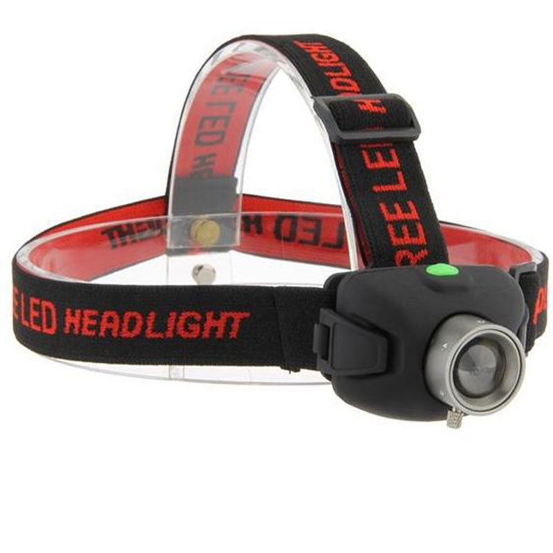 Q5 Zoom Waterproof LED Headlamp for Camping On Foot