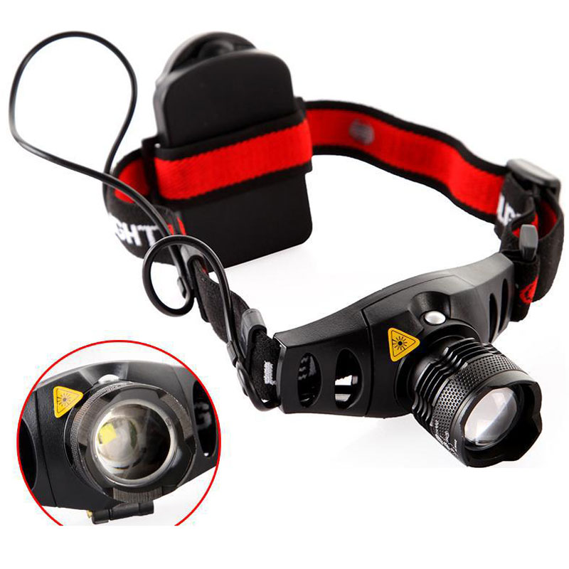6608 Waterproof LED Headlamp for Camping Riding On Foot