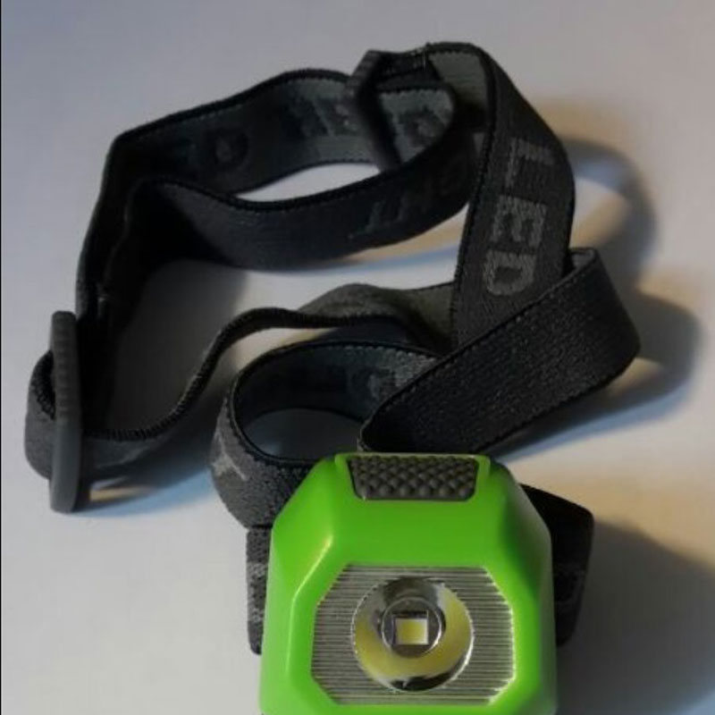 W05C LED Headlamp Waterproof for Camping Riding On Foot