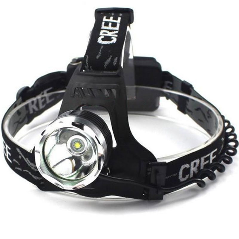 Waterproof LED Headlamp for Camping Riding On Foot CREE T6