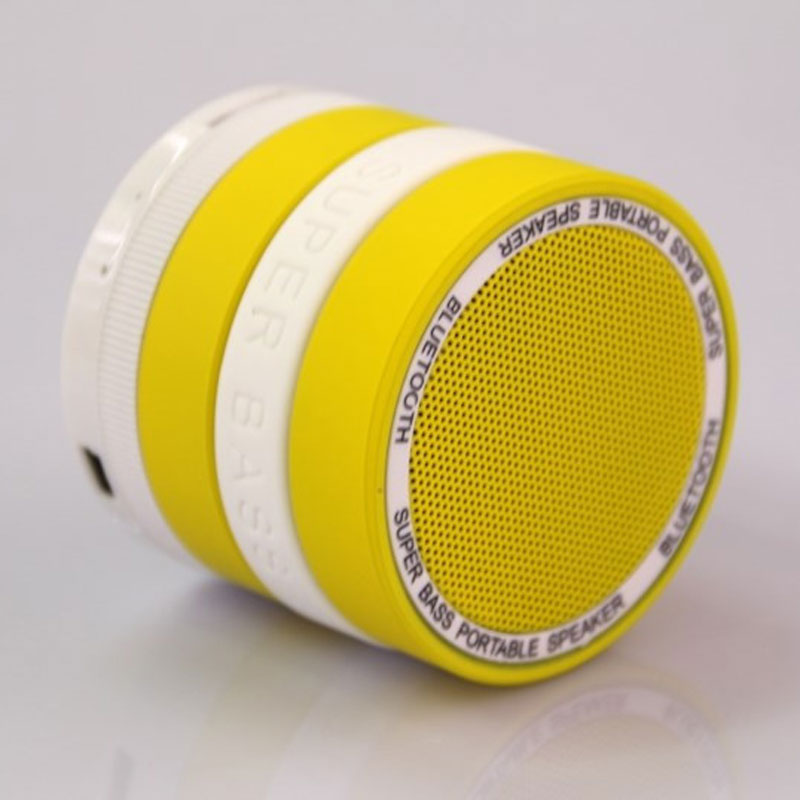 YL Mini Portable Camera Lens Hands-free Wireless Stereo Bluetooth Speaker