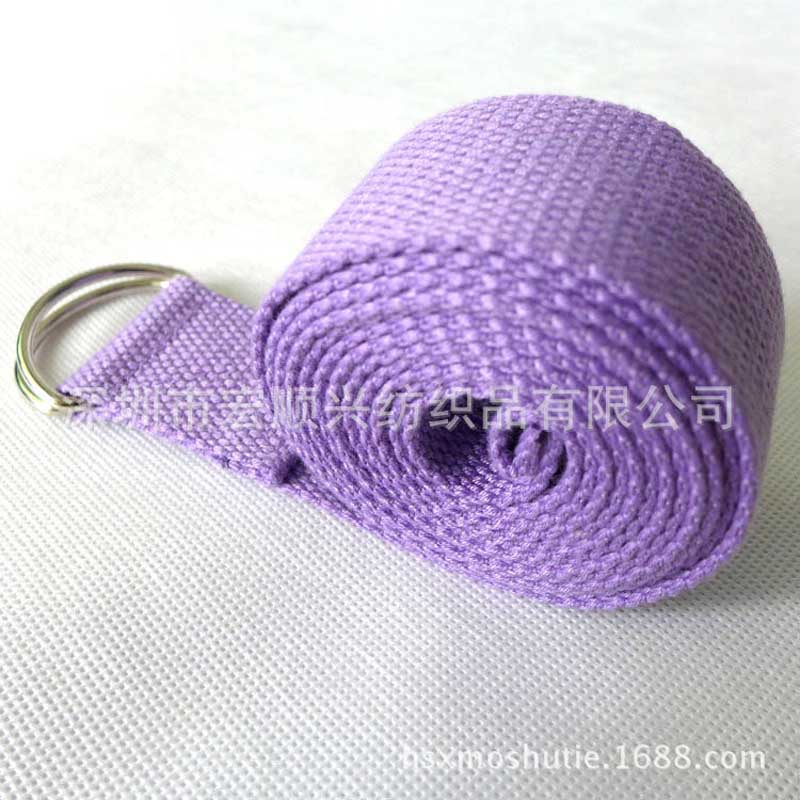 180*3.8cm colorful cotton Stretching strap Rally longer Yoga band