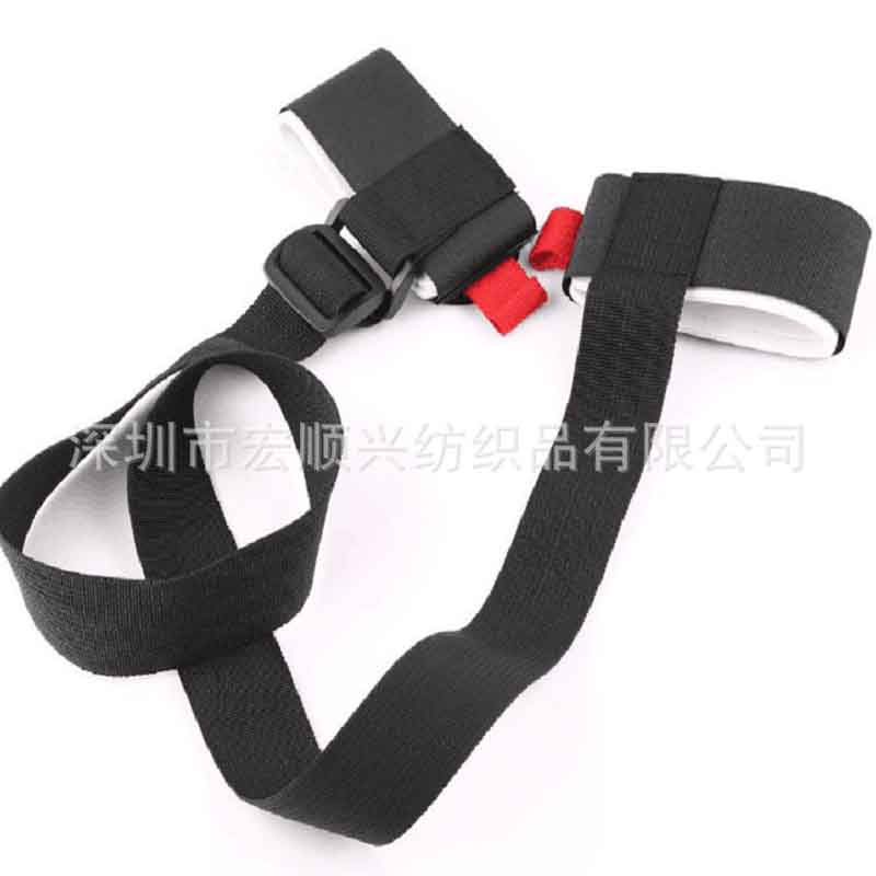 Double plate ski straps snowboard hand strap magic paste strap ski strap