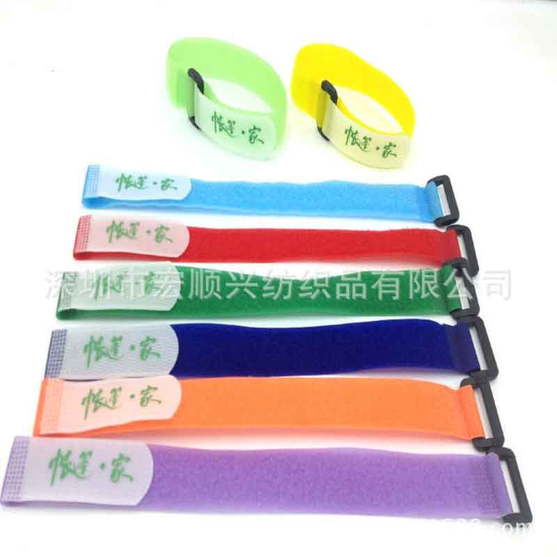 Velcro yoga mat strap wire tie with logo yoga furness buckle strap
