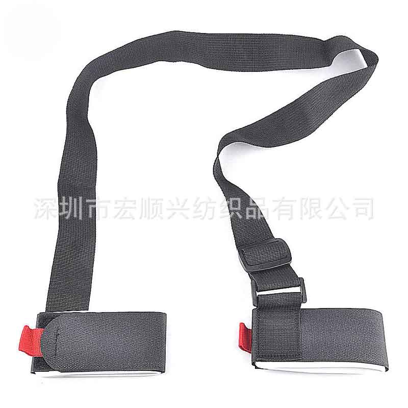 wholesale high quality Nylon velcro strap ski belt velcro snowboard hand belt
